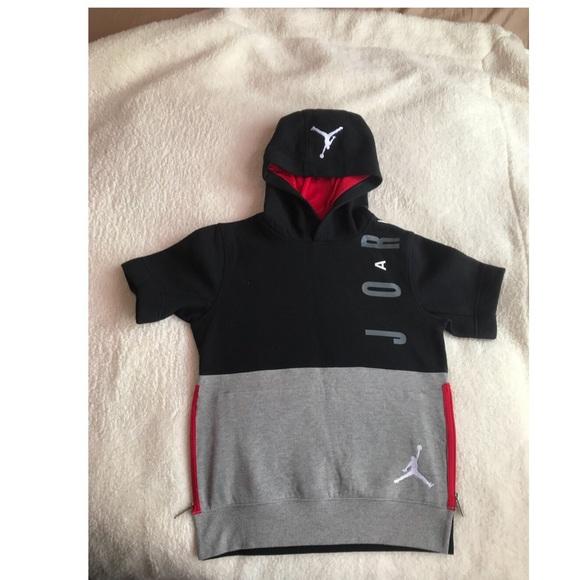 hambruna molécula proteger  Jordan Shirts & Tops | Jordan Short Sleeve Hoodie For Boys | Poshmark